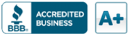BBB Acredited Business - A+
