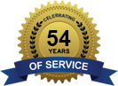 Celebrating 55 Years of Service